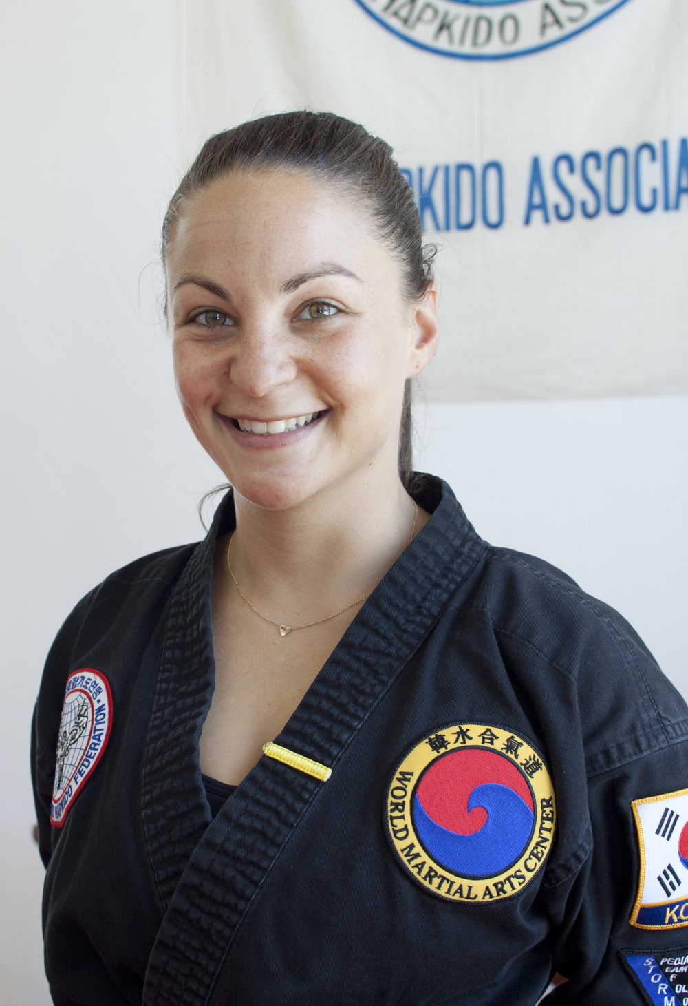 Certified Instructor Lauren Segal  directs the children's program, including the afterschool and camps, and manages much of the daily operations at WMAC.  Lauren began her training in HapKiDo in 2012, and has been teaching the children's classes for several years. She also teaches an adult class on Mondays, which is a high energy, focused 45 minutes.