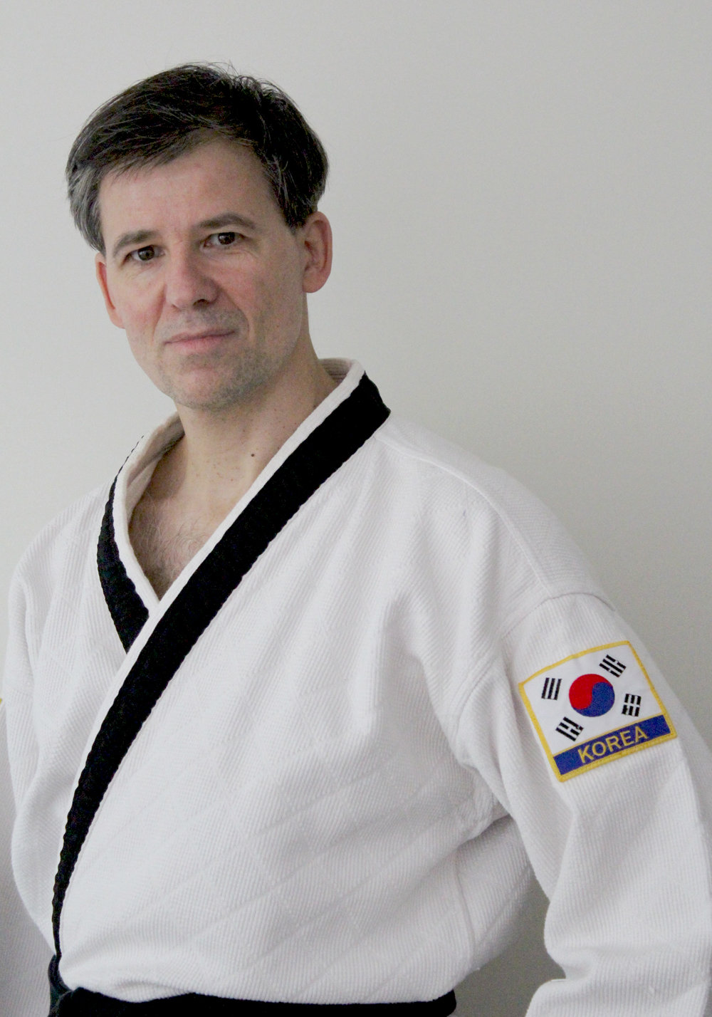 Senior Instructor George Brisset moved from France to the United States in the early 1990s. He trained in Tae Kwon Do in France for 10 years, and has trained in HapKiDo under Master Herbert for 20 years. George recently completed the Tai Chi Instructor's Certification Program.