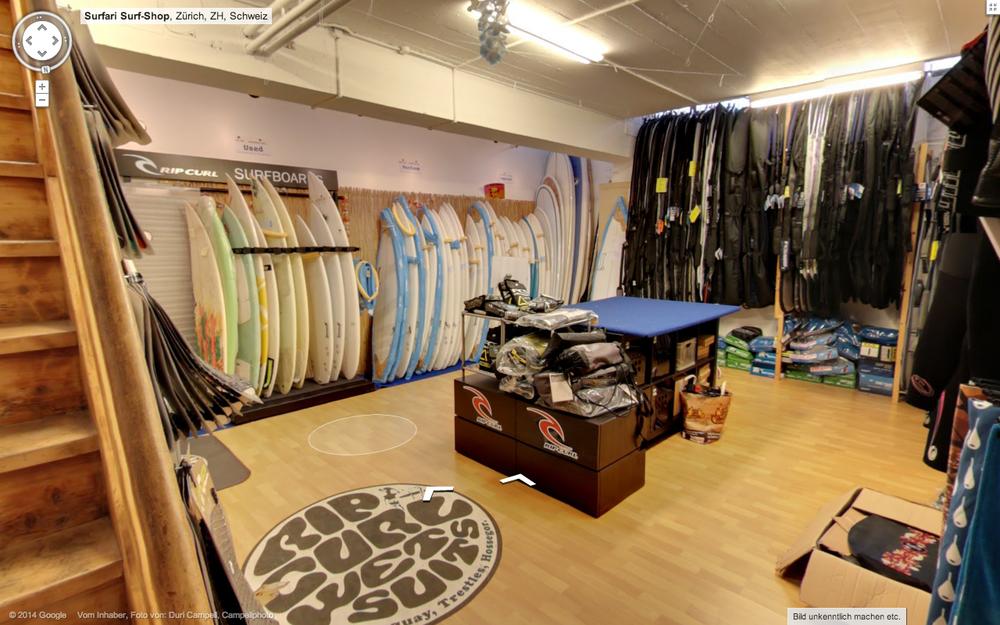 Surfari Surf Shop Zürich