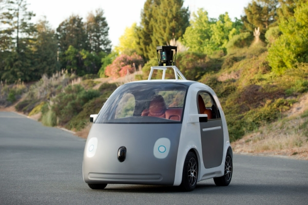 Prototype of the Google self-driving car