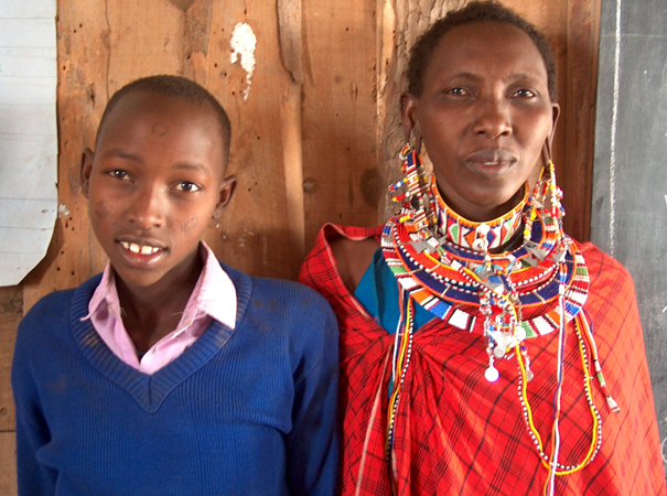 The girls come from several different tribes, but most are Maasai.
