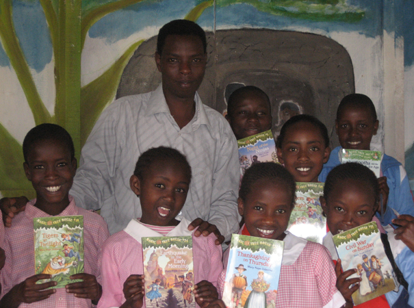 Over the years, BEADS Interns have painstakingly translated many beginning-reader books into Kimaasai, so that students can learn to read in their native language as well.