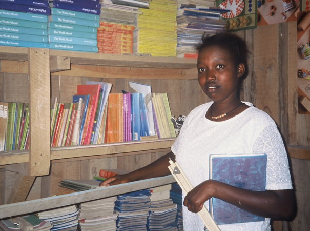Florence begins work in her local community as a teacher.