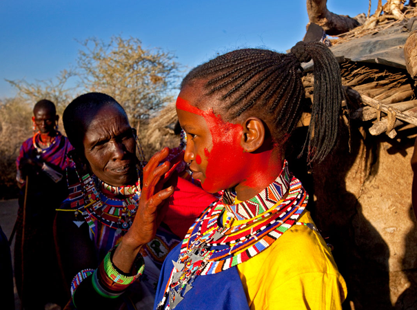 BEADS for Education is committed to helping the Maasai eliminate the cutting, while respectfully supporting their traditions. Our alternative rite of passage was developed by the Maasai leaders themselves.