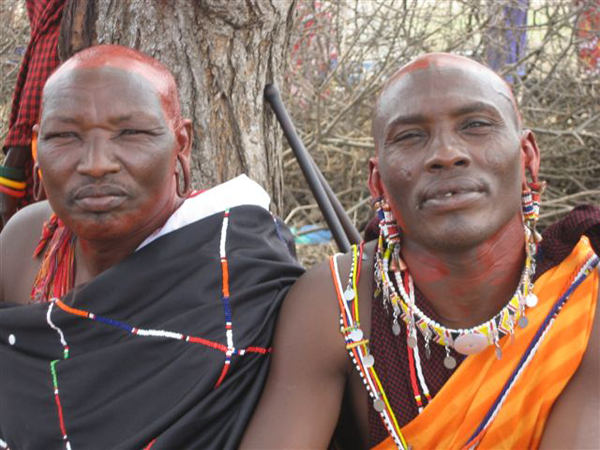 Every ceremony without the cut shows the community that the rite can be just as meaningful without FGM. Here, relatives of an initiate show their support.