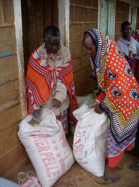 In 2009 - 2010, BEADS distributed more than $100,000 USD of food to drought-affected areas.