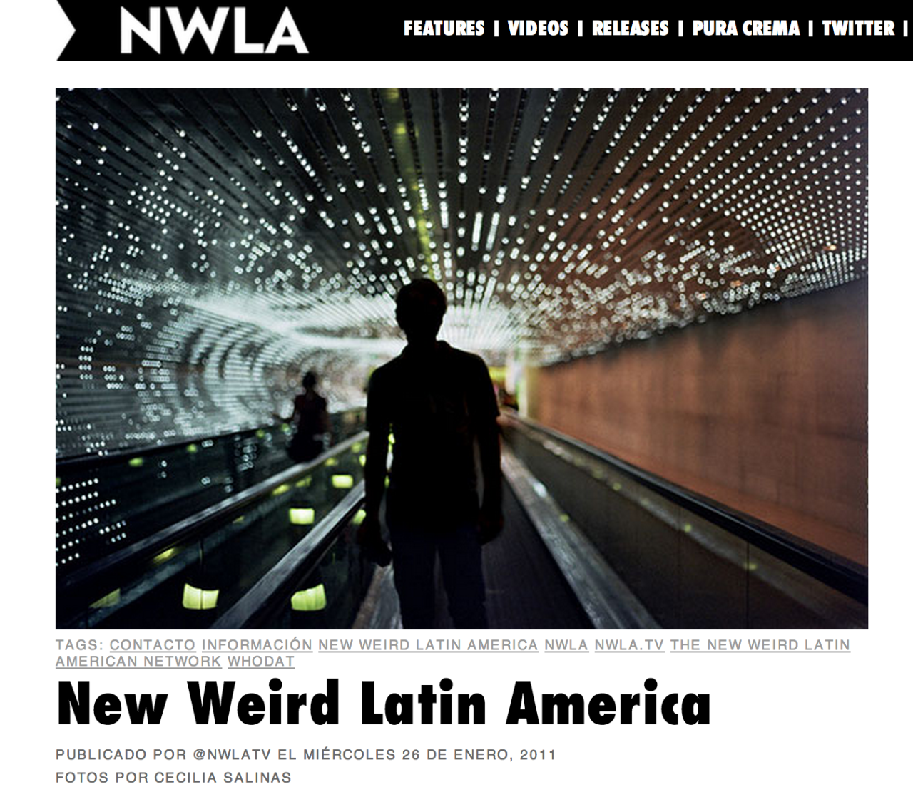 Featured in  NWLA