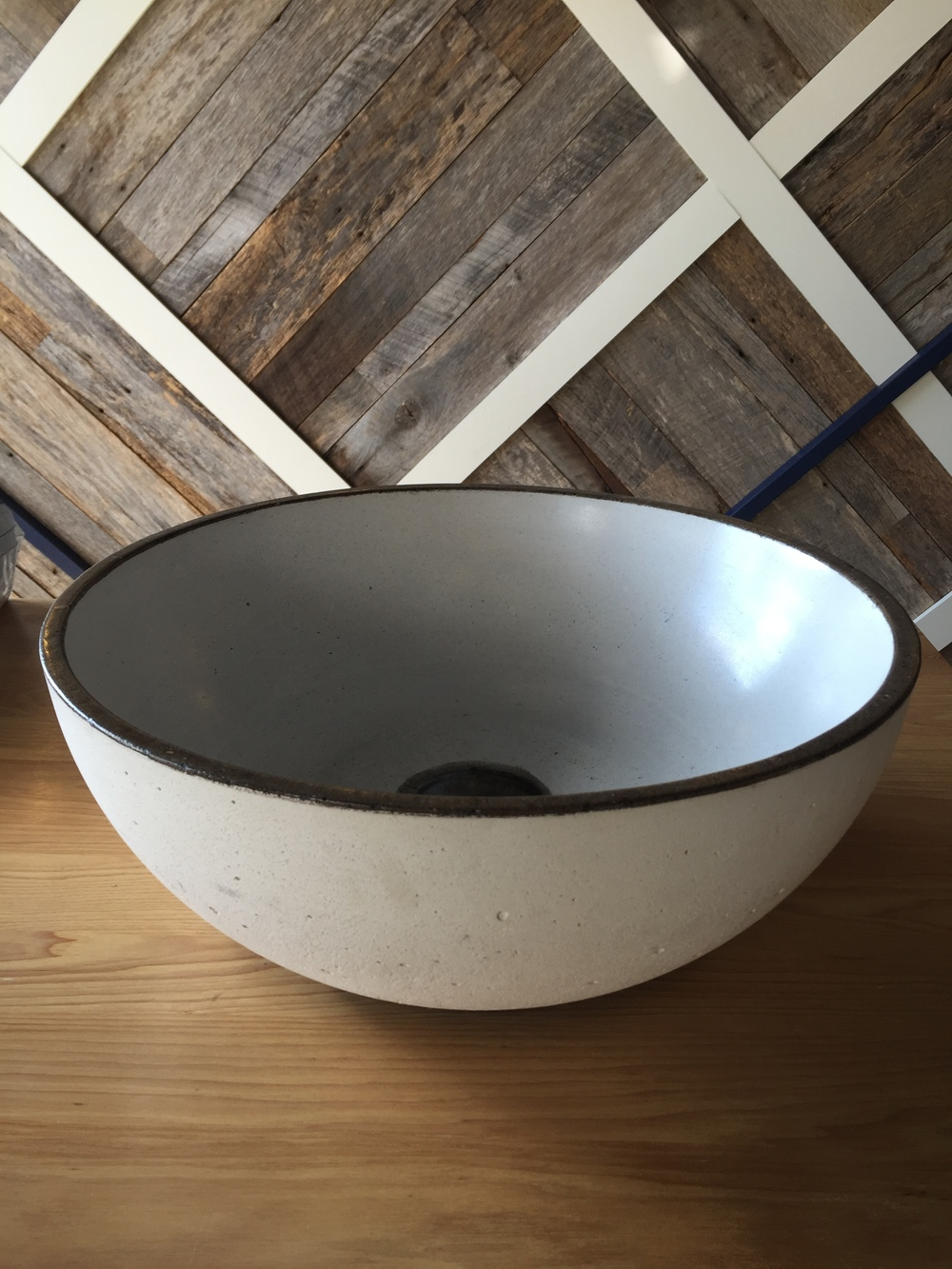 Belle Concrete Vessel Sink