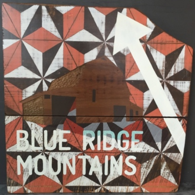 Blue Ridge - 27x29 - Oil on Barnwood - $425.00.JPG