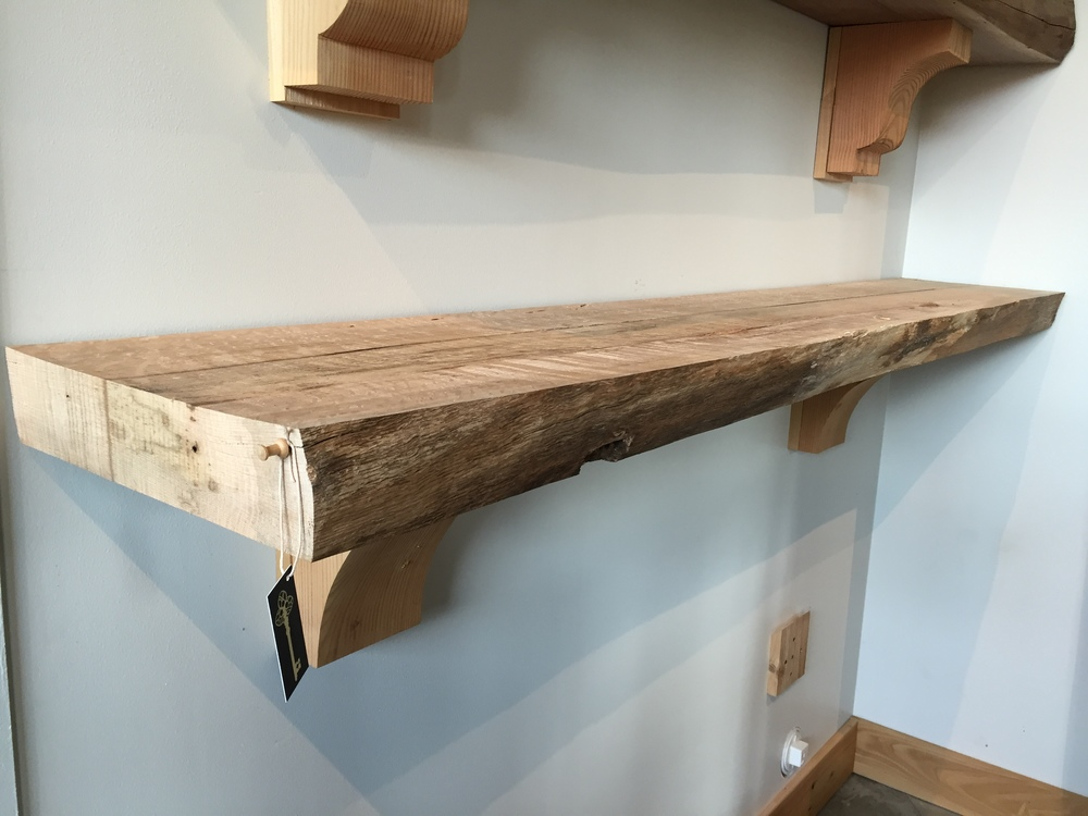 Red Oak Mantel