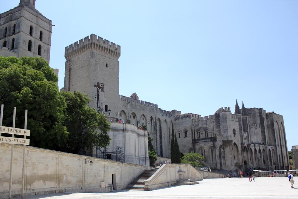 The Palais du Papes, Avignon