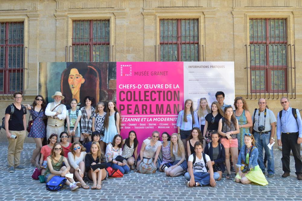 A visit to the Musée Granet, Aix-en-Provence