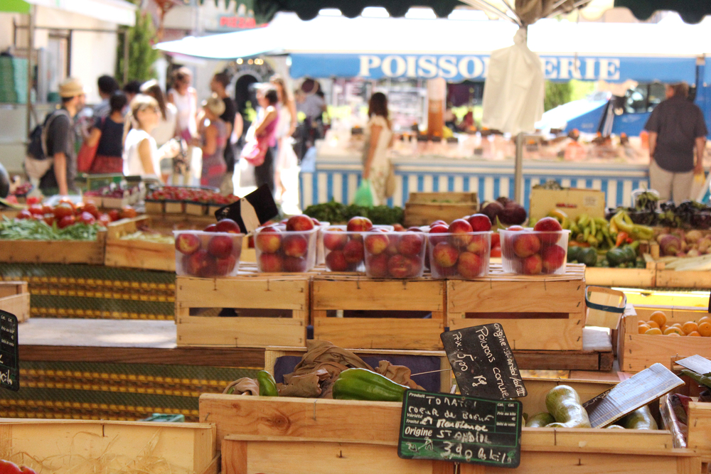 A local market, Aix-en-Provence