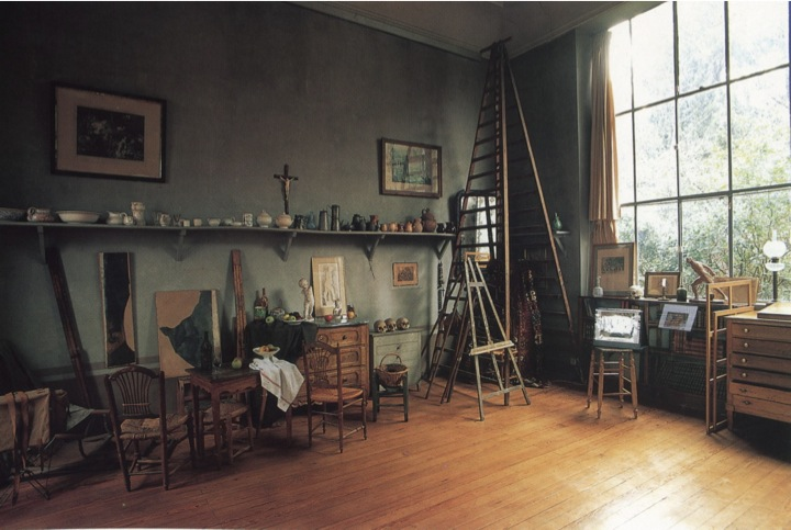 Our trip to Aix includes a visit to Cezanne's studio