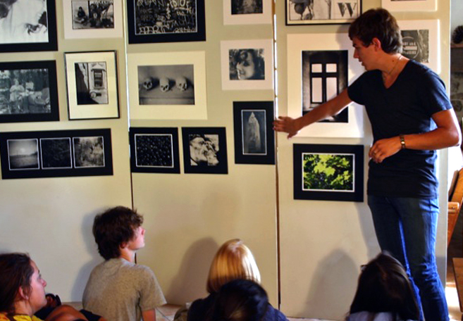 Summer photography program for high school students in france
