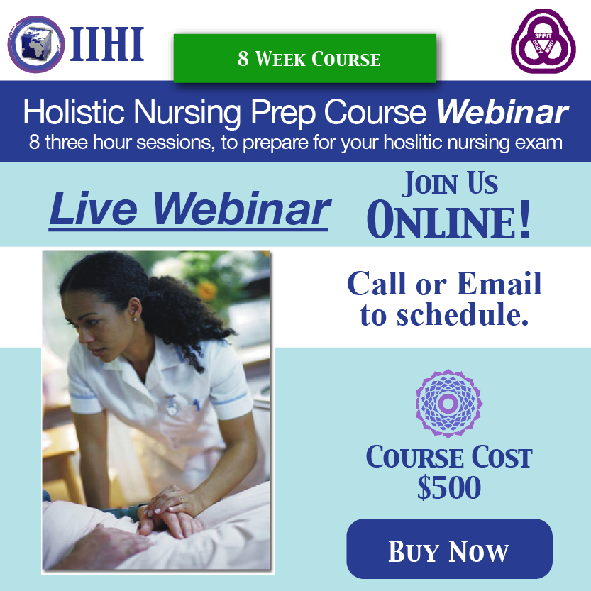 New Holistic Nursing Prep Course Live Webinar International