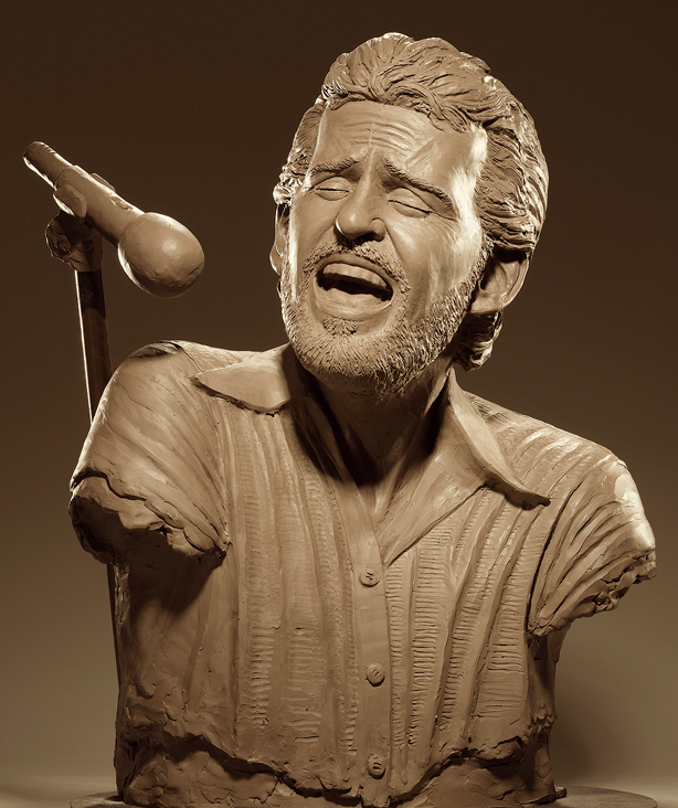 Clay Sculpture by Kevin Kresse
