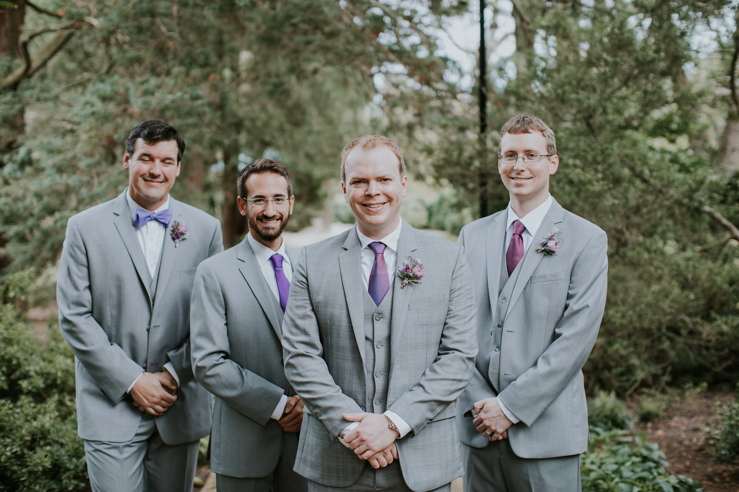 Nice Grey Suit Wedding Party Adornment - All Wedding Dresses ...