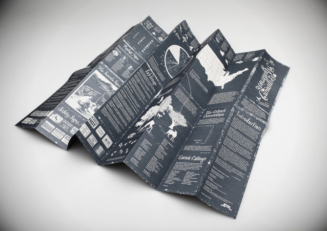 The back side of the Map is made up of infographics and information about JPL's history as well as current information about the Lab's inner workings. It includes a timeline, photos and bios of past directors, special lingo dictionary, wildlife guide, and a sampling of the many safety signs on Lab. It also maps the other NASA centers across the US.