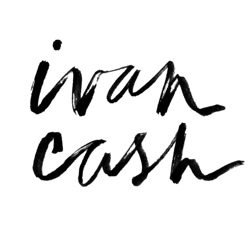 ivan cash logo stacked