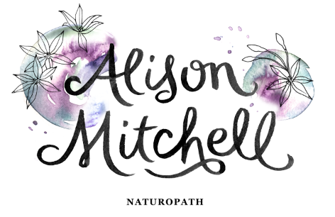 alison mitchell logo by erin ellis