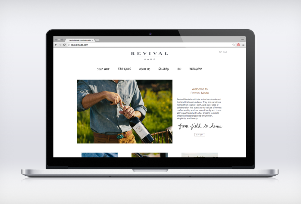 ellis revival made web