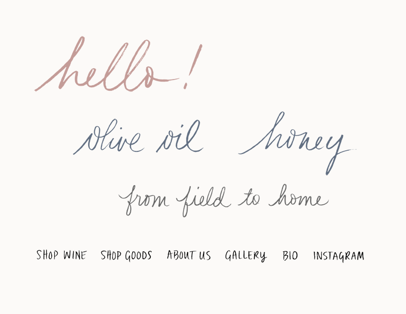 handwritten assets by Erin Ellis