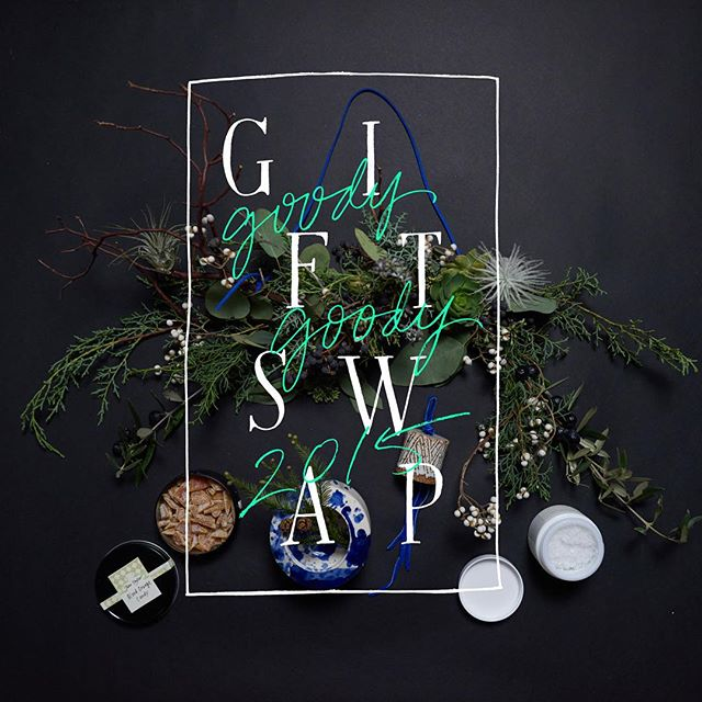 image via @goodygoodygiftswap on instagram. Design and styling: Jenna Cantagallo. Photo: Tim Gibson.