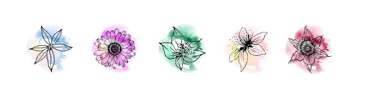 icons x 5