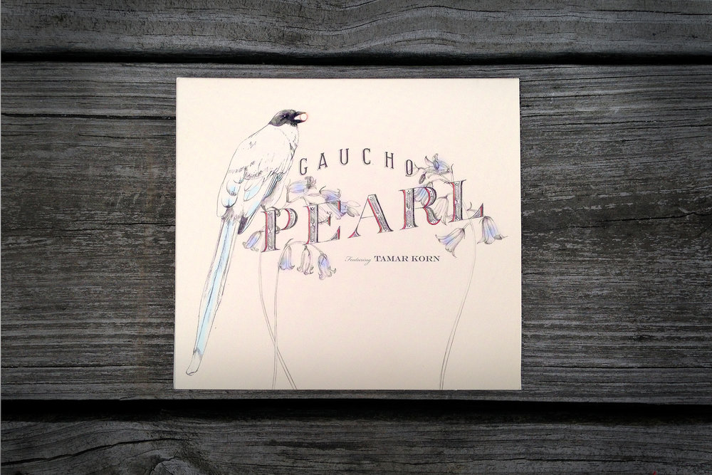 Gaucho Pearl Illustrated Album Artwork by Erin Ellis