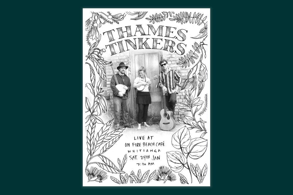 Botanical-illustration-lettering-music-poster-by-Erin-Ellis_Thames-Tinkers.jpg