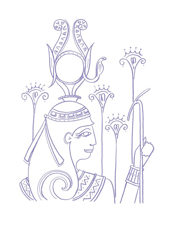 Deities_illustrations_hathor_erin-ellis.png