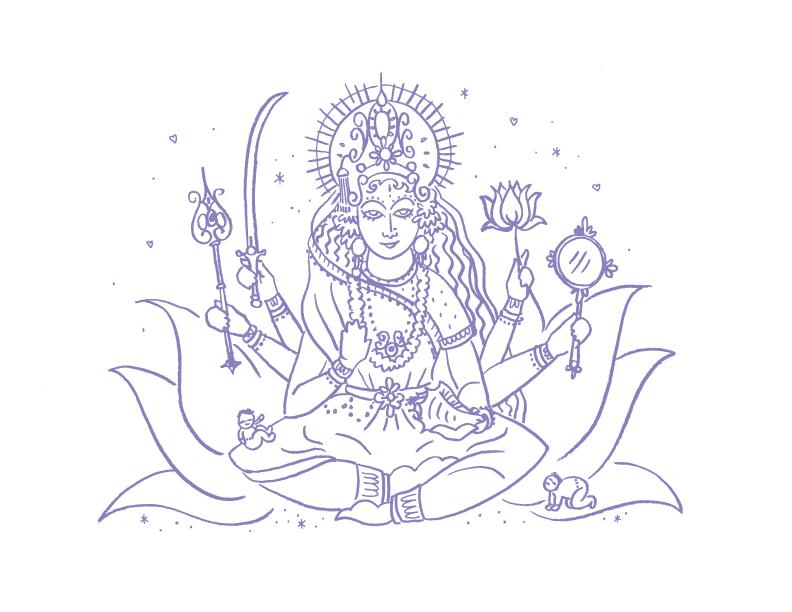Deities_illustrations_Parvati_erin-ellis.png