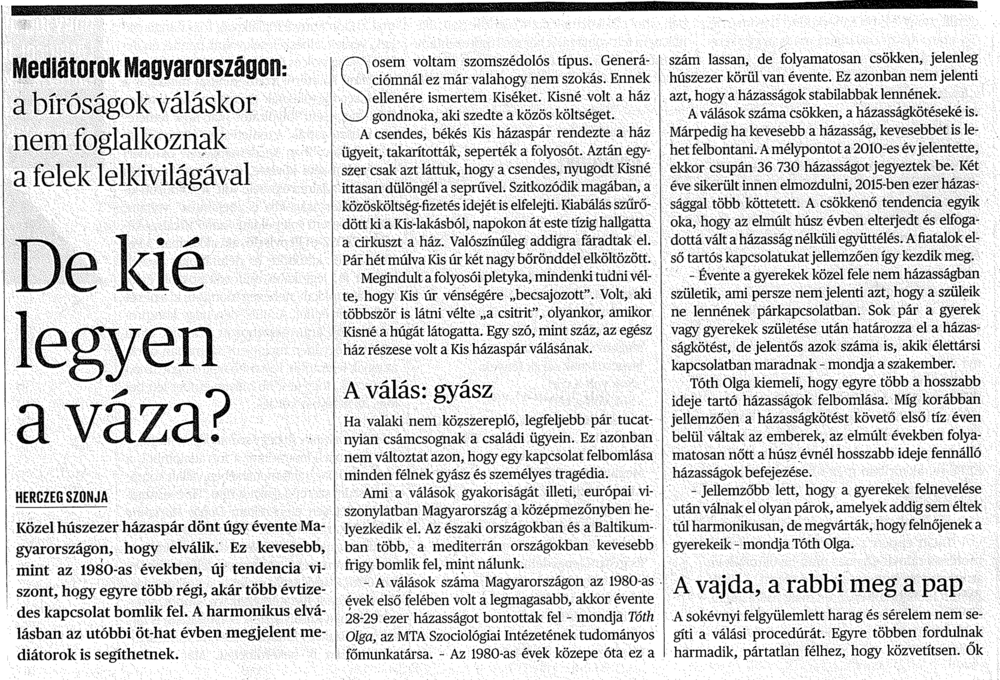 Herczeg Szonja: De kié legyen a váza? /1