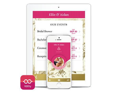 Apply Couple Wedding App | Christina Sloan Events