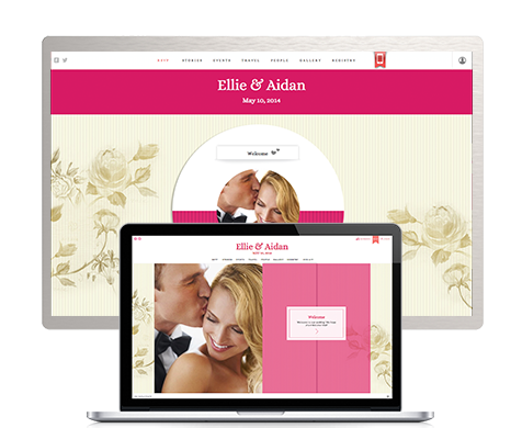 Apply Couple Wedding Web Site | Christina Sloan Events