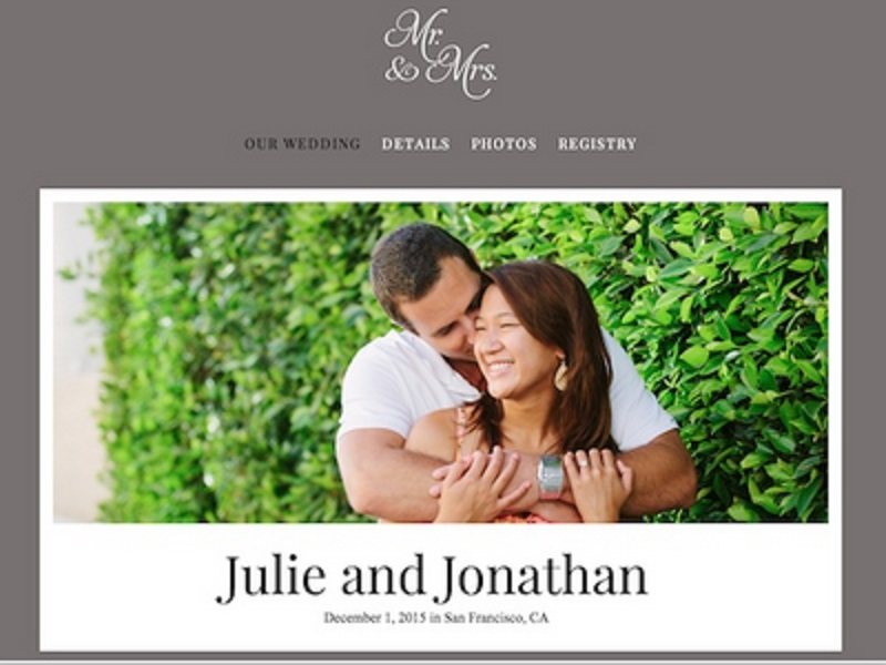 The Knot Wedding Web Site | Christina Sloan Events