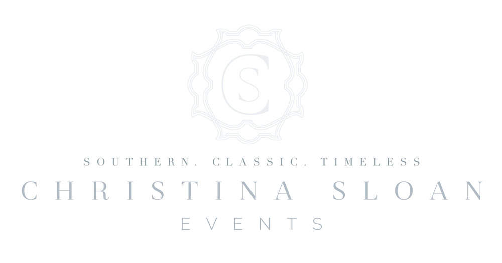 Christina Sloan Events | Wedding Planner Birmingham Alabama
