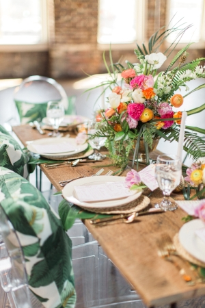 Tropical Palm Beach Inspired Wedding Shoot | Christina Sloan Events | Wedding Planners Birmingham Alabama | Photos By Heart