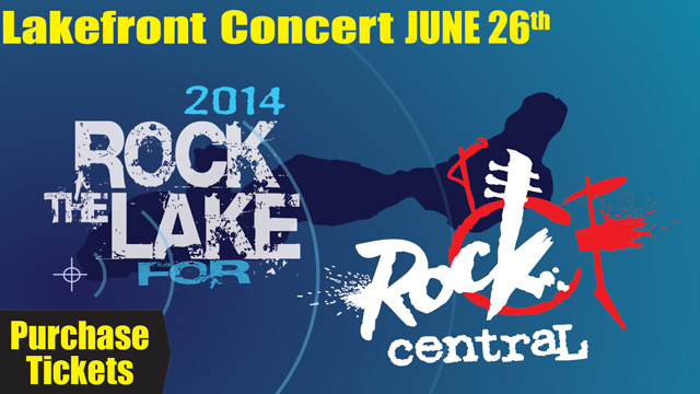 Please join us for the first Rock the Lake for Rock Central lakefront concert in Fontana, Wisconsin. Find out more about the event.