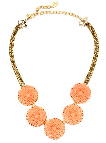 David Aubrey Jewellery, Belinda Floral Cabachon Necklace