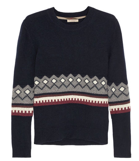 Burberry Brit Wool & Cashmere Blend Sweater - the sweater can be dressed up or down, so doubles up for your daytime casual and evening glamour.