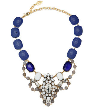 David Aubrey Clara Resin & Agate Necklace - add a finishing touch to your layers with a statement piece.