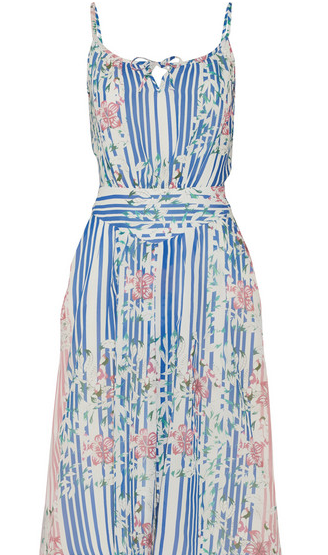 Paul & Joe Cotton & Silk Sundress - a pretty sundress can take you easily from daytime activities to evening fun.