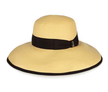 Gucci Wide Brim Hat - a classic straw hat will carry you from summer to summer and add that much needed sun protection.