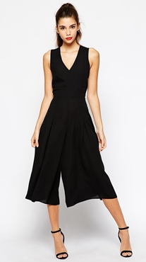 Love Culotte Jumpsuit - a glamorous evening ensemble in the new season style. Just add accessories.