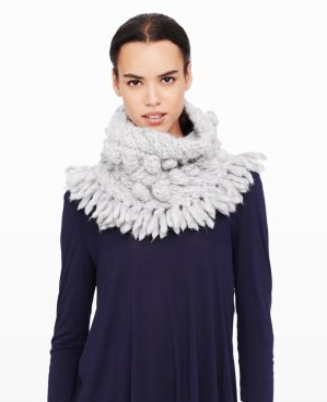 Club Monaco Weyland Snood- a fabulous alternative to a scarf.