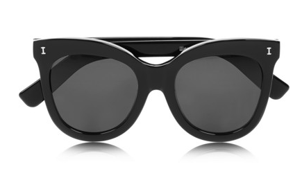 Illesteva Holly Cat Eye Acetate Sunglasses - this summer essential will add just the right amount of sleekness.