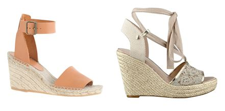 Stylish and practical shoes for a wedding.  J Crew - available online & Guess - available at Perry.