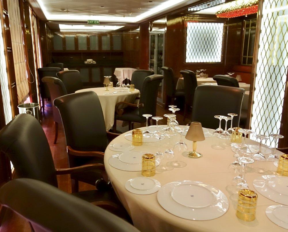 La Dame speciality restaurant.
